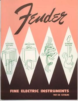 Catalogo Fender 1957-1958