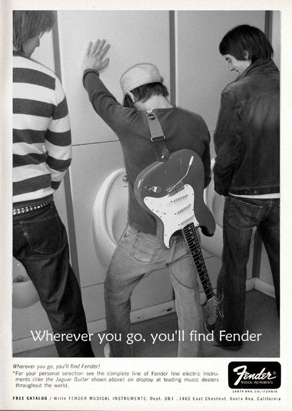 2006 Wherever you go, you'll find Fender ads