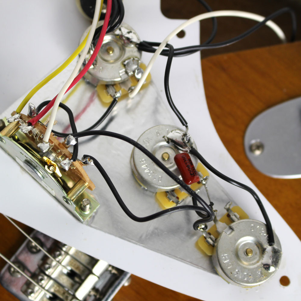 Road Worn 50s Stratocaster Mim Fuzzfaced Tex Mex Wiring Courtesy Of Cream City Music
