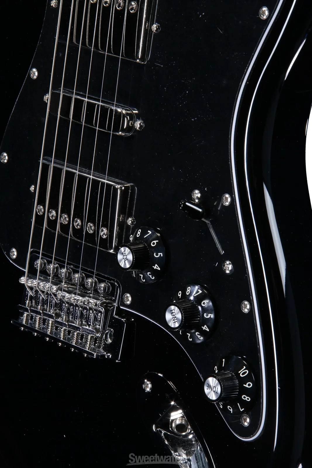 Blacktop Stratocaster HSH (MIM) - Fuzzfaced
