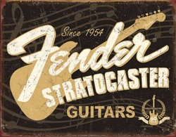 2014 Fender Stratocaster 60th Anniversary Advertising