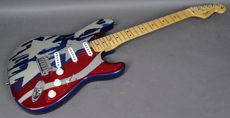 Stars and Stripes Aluminum Body American Standard Stratocaster
