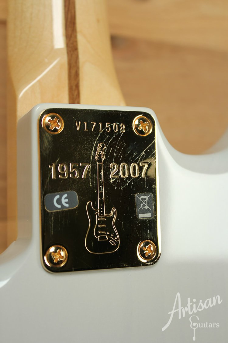Neck Plate of the American Vintage 1957 Commemorative Stratocaster