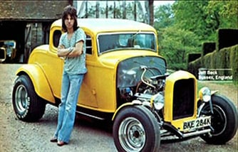 Jeff Beck and his