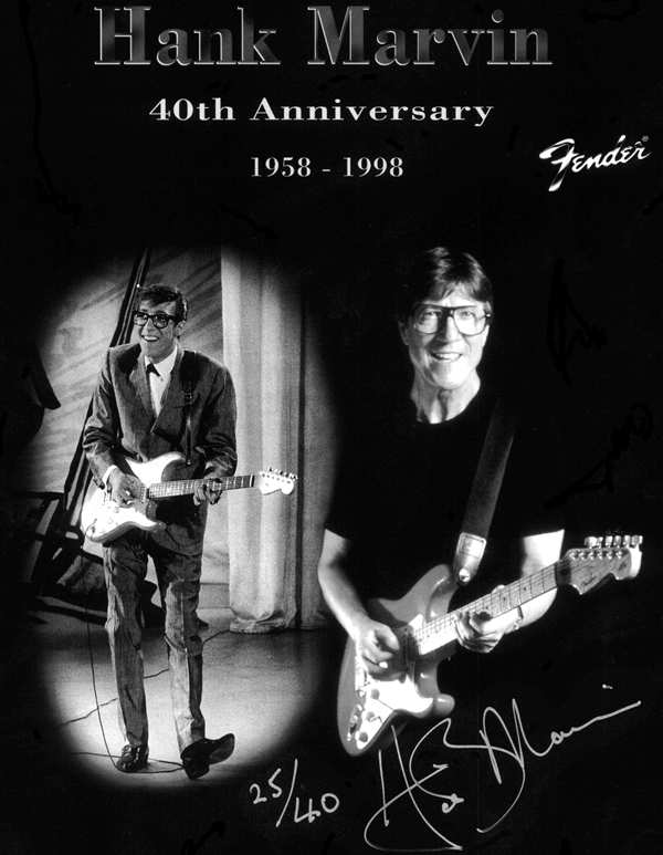 1998 - Hank Marvin ​40th Anniversary Stratocaster