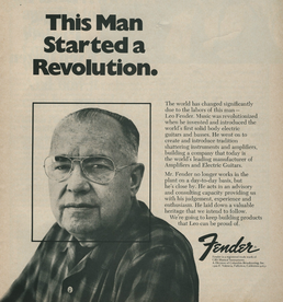 Leo Fender: This man started a revolution