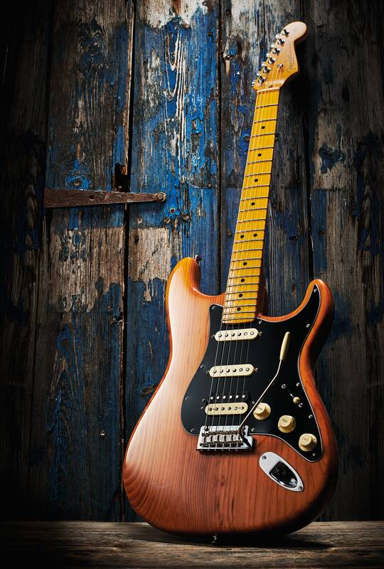 American Professional II Stratocaster HSS, Roasted Pine