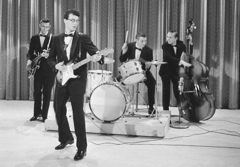 Buddy Holly al Sullivan show del 1957
