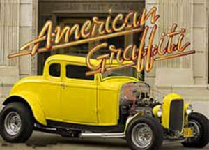 1932 Ford Chopped Deuce Coupe of American Graffiti movie