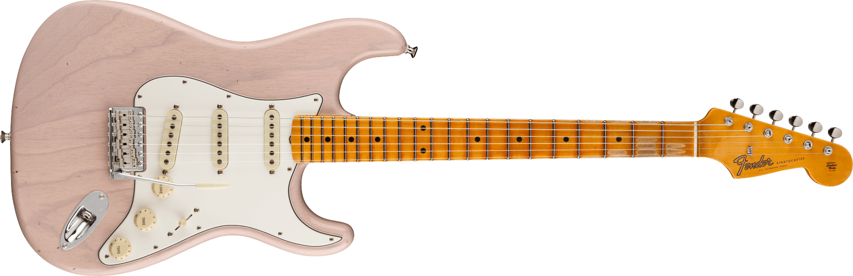 9231012919: Maple Fingerboard, Dirty White Blonde