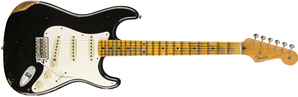 9235000816: Maple Neck, Aged Black