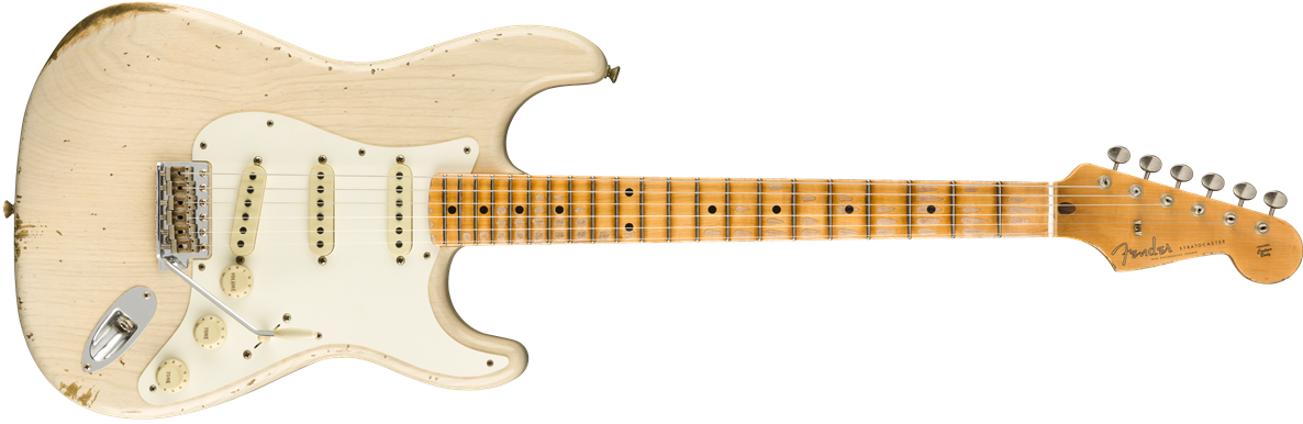 9235000817: Maple Neck, Aged White Blonde