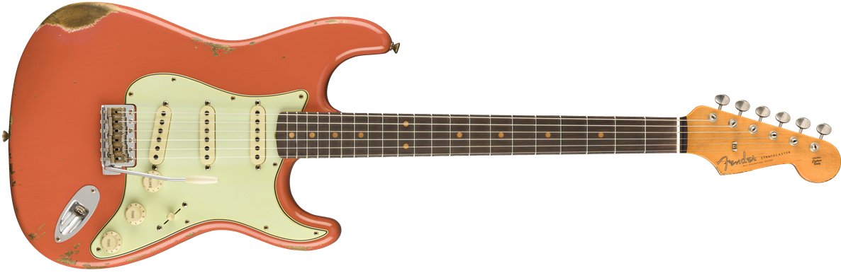 9235000820: Rosewood Fingerboard, Faded Aged Tahitian Coral