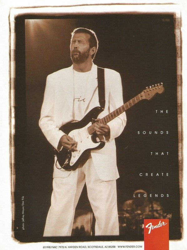 The sounds that create legends Clapton