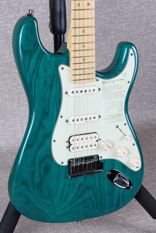 American Deluxe Fat Stratocaster Fuzzfaced