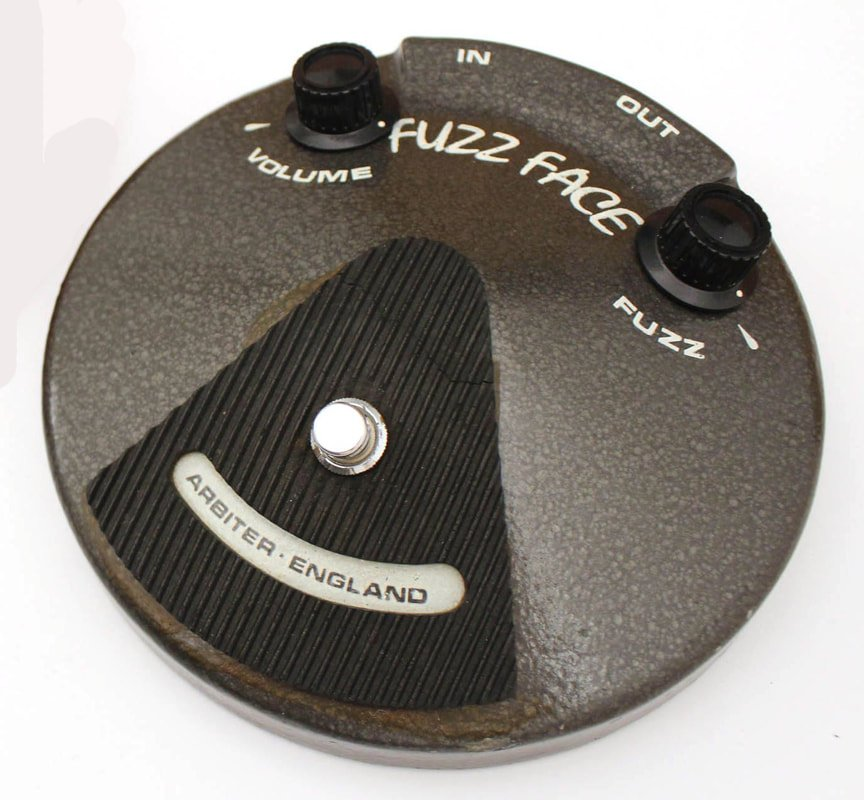 Early Fuzz Face, Courtesy of Vintage Authority