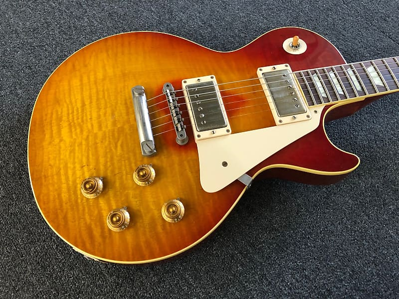 Gibson Les Paul Southern Rock Aged and Signed 2014 Reverseburst