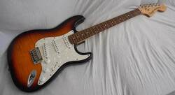 Squier Deluxe Stratocaster FMT (Courtesy of Reverb)