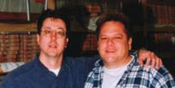 Vince Cunetto and John Page in the '90s