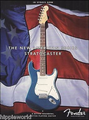Advert dell'American Series Stratocaster