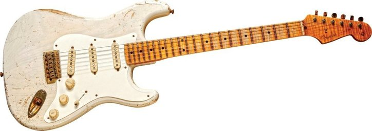 Limited Edition 2011 1956 Stratocaster White Blonde