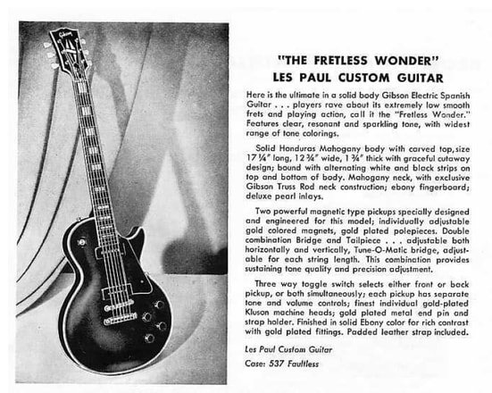 The Les Paul, 1956 catalog