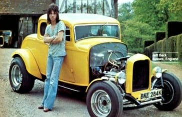 Jeff Beck with his 1932