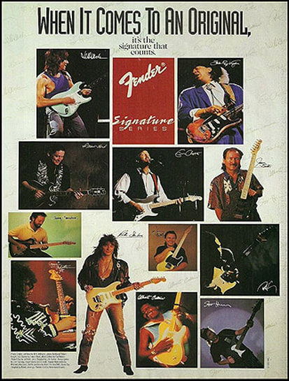 Fender Artist Catalogue 1993