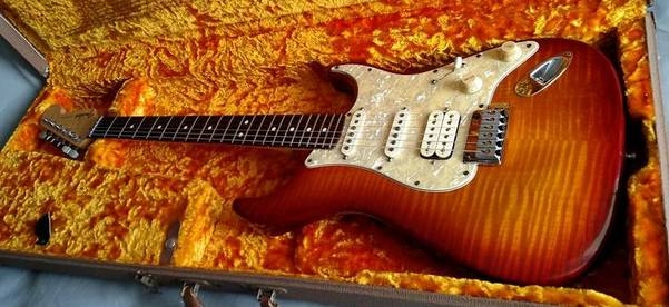 La Contemporary Stratocaster del Custom Shop (Only Guitar)