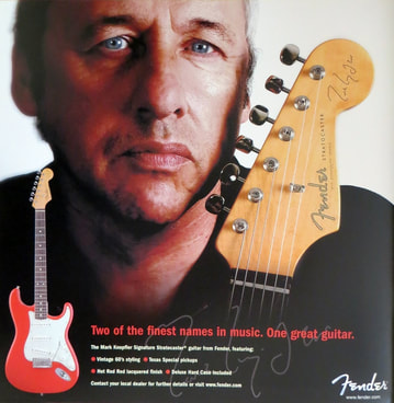 2005 Mark Knofler Stratocaster advert