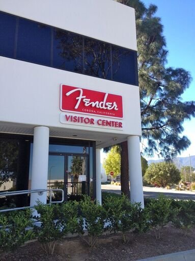 Fender organizes free factory Tours at Fender Visitor Center 301 Cessna Circle, Corona