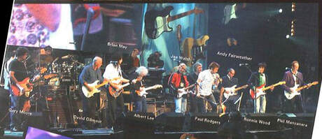 The concert for the 50th anniversary of Fender at Wembley Arena, 2005 Fender Frontline