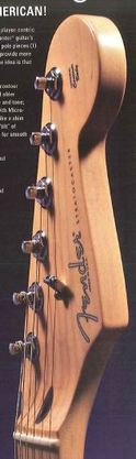 New staggered tuning machines (2005 Fender catalog)