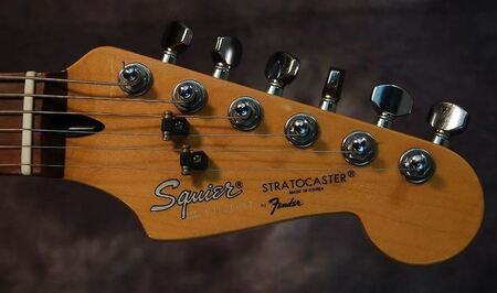 '80s Korean Squier headstock with