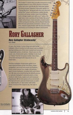 Rory Gallagher catalogo 2004