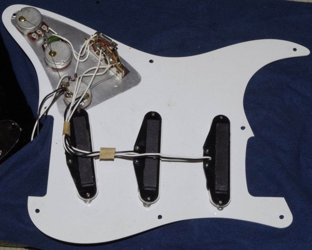 Japanese JV ST30 electronics and pickups