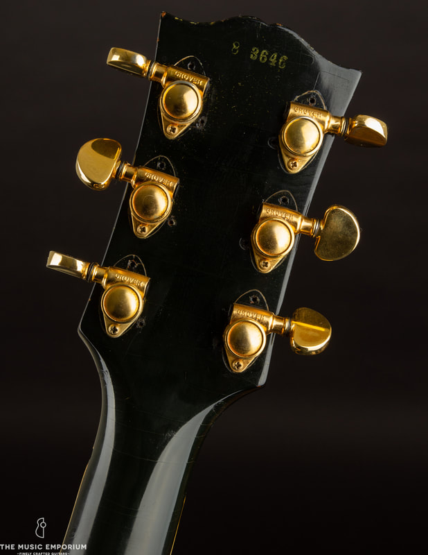 The Grover Rotomatics used on a 1958 Les Paul Custom