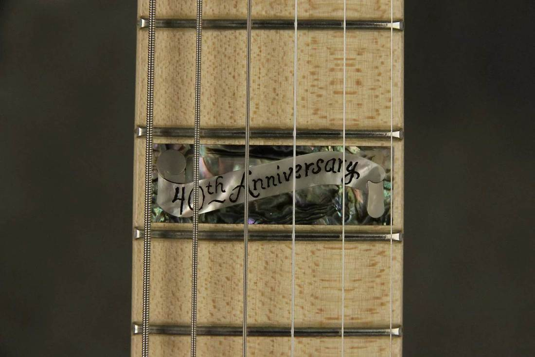 Inlay at 12th fret of the Limited Ed. 40th Anniversary