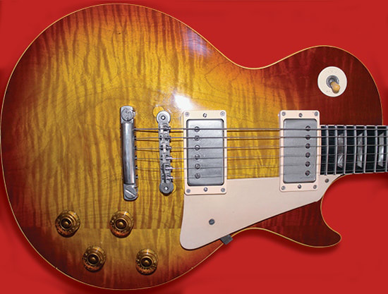 Conversion da Les Paul '54 a Burst