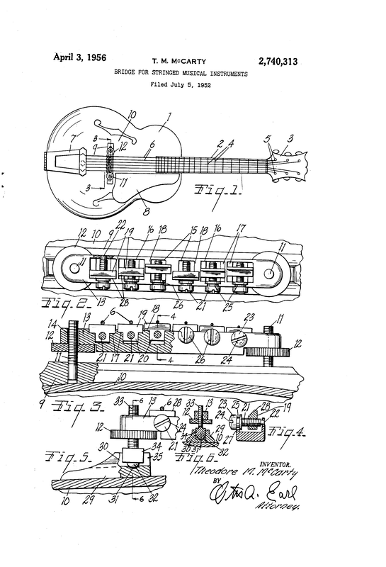 Tune-O-Matic Patent