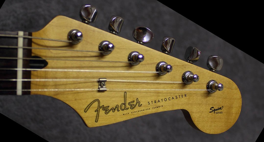 Squier Series with Spaghetti Logo