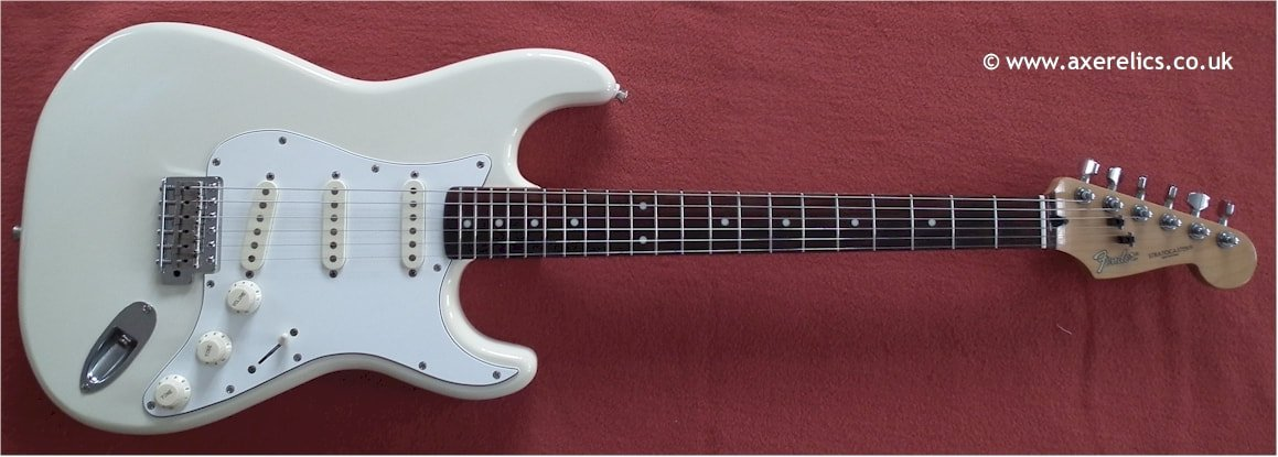 Fender Stratocaster made in Korea del 1987