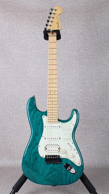 American Deluxe Fat Stratocaster Fuzzfaced