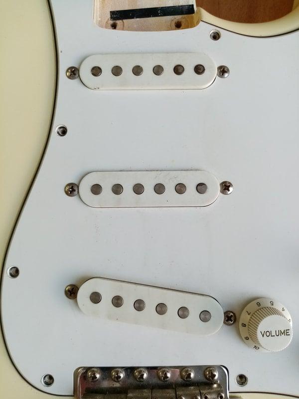 Squier Standard Stratocaster (MIJ) - Fuzzfaced