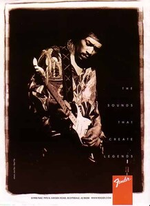 The sounds that create legends Hendrix