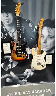 Vaughan brothers stratocasters
