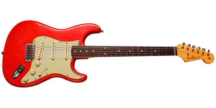 2011 Limited '60s Stratocaster Fiesta Red