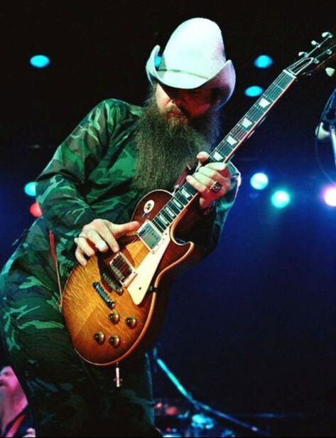 Billy Gibbons con la sua Pearly Gates