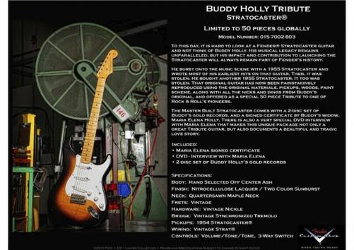 Buddy Holly Tribute Stratocaster