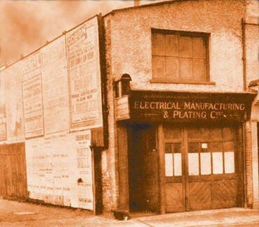 L'Electrical Manufacturing and Plating Company ad Hampton Wick